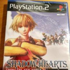 Videojuegos y Consolas: PS2 SHADOW HEARTS FROM THE NEW WORLD PAL UK NUEVO Y PRECINTADO. Lote 150847022