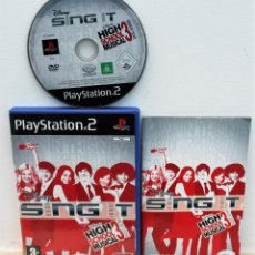 Videojuegos y Consolas: SING IT HIGH SCHOOL MUSICAL 3 - JUEGO PS2. Lote 151038490