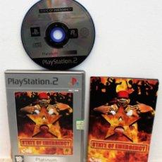 Videojuegos y Consolas: STATE OF EMERGENCY - JUEGO PS2. Lote 151038822