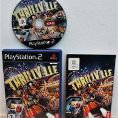Videojuegos y Consolas: THRILLVILLE - JUEGO PS2. Lote 151039962