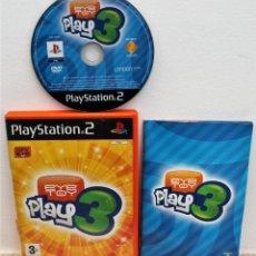 Videojuegos y Consolas: EYE TOY - PLAY 3 - JUEGO PS2. Lote 151040218
