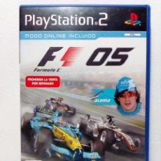 Videojuegos y Consolas: JUEGO PLAYSTATION 2 F1 05 (EDICIÓN PARA ESPAÑA) PS2 FORMULA 1 2005. Lote 151452310