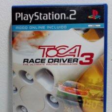 Videojuegos y Consolas: JUEGO PLAYSTATION 2 TOCA RACE DRIVER 3 (PS2) . Lote 151453478
