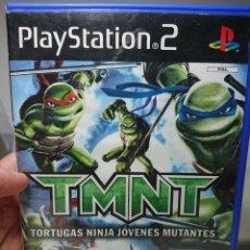 Videojuegos y Consolas: TORTUGAS NINJA JÓVENES MUTANTES, PLAYSTATION 2 - COMPLETO CON MANUAL - PAL ESPAÑA. Lote 151552952