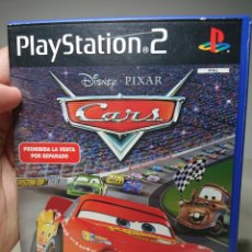 Videojuegos y Consolas: CARS PLAYSTATION 2 COMPLETO, PAL ESPAÑA. Lote 151553302