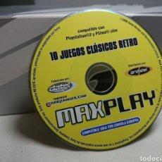 Videojuegos y Consolas: MAX PLAY 10 JUEGOS CLÁSICOS PLAYSTATION 2. Lote 151553900
