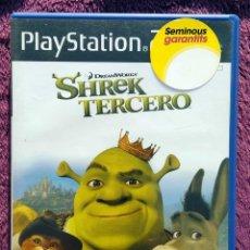 Videojuegos y Consolas: JUEGO PLAYSTATION 2, SHREK TERCERO. Lote 114471291