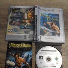 Videojuegos y Consolas: PS2 PRINCE OF PERSIA LAS ARENAS DEL TIEMPO PLATINUM PAL ESP COMPLETO. Lote 152187882