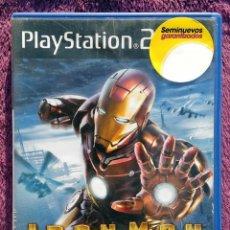 Videojuegos y Consolas: JUEGO PLAYSTATION 2, IRON MAN EL VEDEOJUGO OFICIAL - MARVEL - SEGA 12+. Lote 152196654