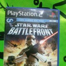 Videojuegos y Consolas: JUEGO PLAYSTATION 2 *STAR WARS BATTLEFRONT* ... COMPLETO Y EN MUY BUEN ESTADO.. Lote 152229262