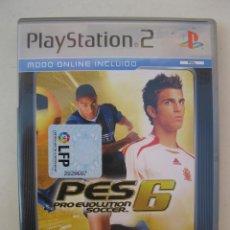 Videojuegos y Consolas: PRO EVOLUTION SOCCER 6 - PES 6 - JUEGO PARA PLAYSTATION 2.. Lote 152275306