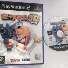 Videojuegos y Consolas: WORMS 3D TEAM 17 SEGA PS2 PLAYSTATION 2 PLAY STATION TWO KREATEN. Lote 152338230
