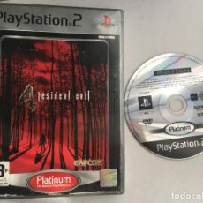 Videojuegos y Consolas: RESIDENT EVIL 4 PLATINUM RE4 RE 4 IV PS2 PLAYSTATION 2 PLAY STATION TWO KREATEN. Lote 152338810