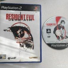 Videojuegos y Consolas: RESIDENT EVIL DEAD A IM AIM CAPCOM G CON 2 GCON PS2 PLAYSTATION 2 PLAY STATION TWO KREATEN. Lote 152349166