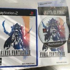 Videojuegos y Consolas: FINAL FANTASY XII 12 FF PS2 PLAYSTATION 2 PLAY STATION TWO KREATEN. Lote 152349362