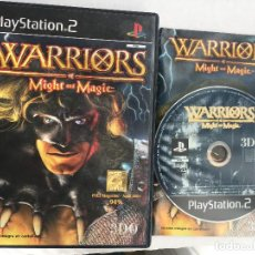 Videojuegos y Consolas: WARRIORS OF MIGHT AND MAGIC 3D0 PS2 PLAYSTATION 2 PLAY STATION TWO KREATEN. Lote 152350002