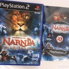 Videojuegos y Consolas: LAS CRONICAS DE NARNIA EL LEON LA BRUJA Y EL ARMARIO PS2 PLAYSTATION 2 PLAY STATION TWO KREATEN. Lote 152352094