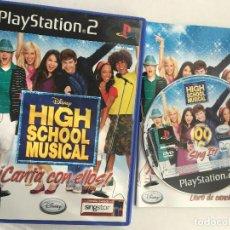 Videojuegos y Consolas: DISNEY HIGH SCHOOL MUSICAL CANTA CON ELLOS SING SINGSTAR PS2 PLAYSTATION 2 PLAY STATION TWO KREATEN. Lote 152355418