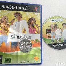 Videojuegos y Consolas: SING STAR POP SINGSTAR PS2 PLAYSTATION 2 PLAY STATION TWO KREATEN. Lote 152356102