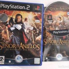 Videojuegos y Consolas: EL SEÑOR DE LOS ANILLOS EL RETORNO DEL REY ESDLA TLOTR PS2 PLAYSTATION 2 PLAY STATION TWO KREATEN. Lote 152356758