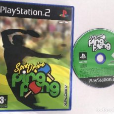 Videojuegos y Consolas: SPIN DRIVE PING PONG XPLOSIV PAL PS2 PLAYSTATION 2 PLAY STATION TWO KREATEN. Lote 152357010