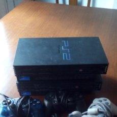 Videojuegos y Consolas: LOTE DOS PLAY 2 PLAY STATION 2 Y 4 MANDOS PARA REPARAR O PIEZAS. Lote 152645598