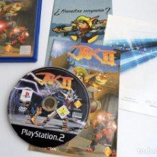 Videojuegos y Consolas: JAK II EL RENEGADO - SONY PS2 - PLAYSTATION 2 - COMPLETO CON INSTRUCCIONES - PERFECTO ESTADO. Lote 152915070