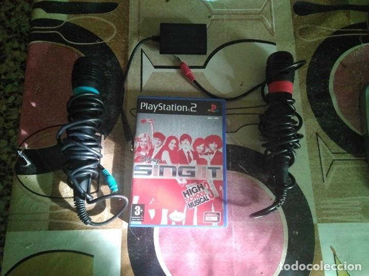 SINGSTAR PLAYSTATION 2 CON UN JUEGO FUNCIONANDO (Juguetes - Videojuegos y Consolas - Sony - PS2)
