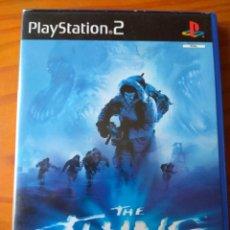 Videojuegos y Consolas: THE THING (LA COSA) - VIDEOJUEGO PS2 PLAYSTATION 2 PAL ESPAÑA-. Lote 154284810