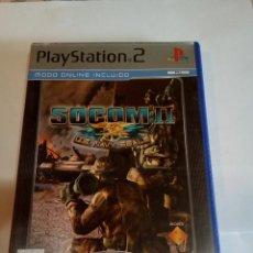Videojuegos y Consolas: JUEGO DE PS2 SOCOM II. Lote 154631306