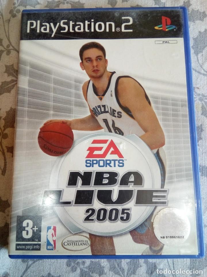 JUEGO DE PS2 NBA LIVE 2005 (Juguetes - Videojuegos y Consolas - Sony - PS2)