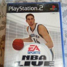 Videojuegos y Consolas: JUEGO DE PS2 NBA LIVE 2005. Lote 154650718