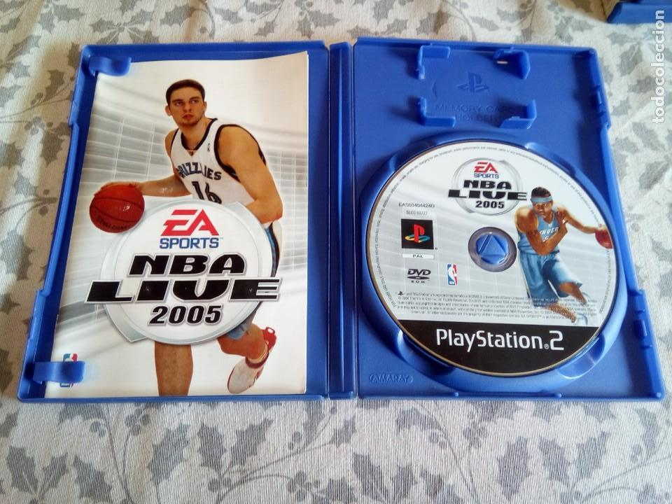 Videojuegos y Consolas: JUEGO DE PS2 NBA LIVE 2005 - Foto 3 - 154650718