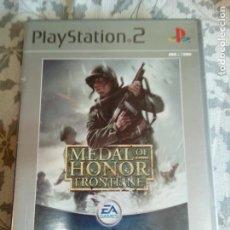 Videojuegos y Consolas: JUEGO DE PS2 MEDAL HONOR FRONTLINE. Lote 154653174