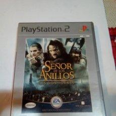 Videojuegos y Consolas: JUEGO PS2 EL SEÑOR DE LOS ANILLOS. Lote 155675866