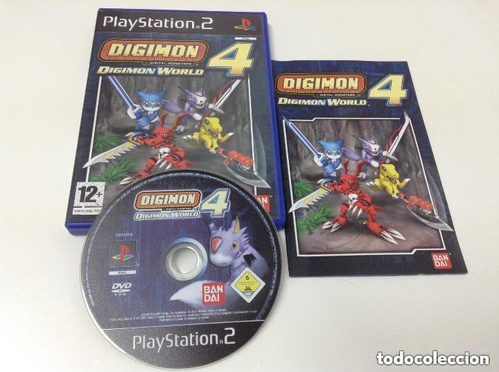 JUEGOP PLAY 2 DIGIMON WORLD 4 (Juguetes - Videojuegos y Consolas - Sony - PS2)
