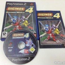 Videojuegos y Consolas: JUEGOP PLAY 2 DIGIMON WORLD 4. Lote 155717386