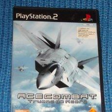 Videojuegos y Consolas: ACE COMBAT 4 TRUENO DE ACERO PS2 PLAYSTATION 2 COMPLETO. Lote 155963674