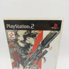 Videojuegos y Consolas: METAL GEAR SOLID 2 SONS OF LIBERTY PS2. Lote 156080182