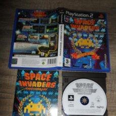 Videojuegos y Consolas: PS2 SPACE INVADERS ANNIVERSARY PAL ESP COMPLETO. Lote 156515550