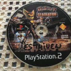 Videojuegos y Consolas: RATCHET GLADIATOR SOLO DISCO - PLAYSTATION 2 PLAY STATION TWO PS2 KREATEN. Lote 156535186