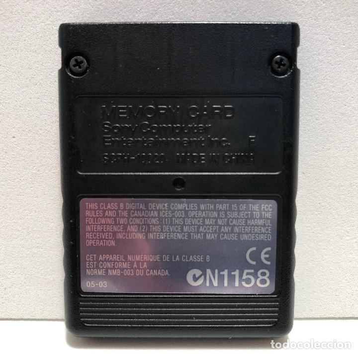 Videojuegos y Consolas: Memory Card 8Mb PlayStation 2 PS2 - Foto 2 - 156693826
