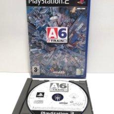 Videojuegos y Consolas: A TRAIN 6 PLAYSTATION 2 PS2. Lote 156694050