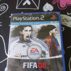 Videojuegos y Consolas: FIFA 08. PLAYSTATION 2. COMPLETO. Lote 156770250