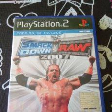 Videojuegos y Consolas: SMACKDOWN VS RAW 2007. PLAYSTATION 2. Lote 156772981