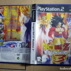 Videojuegos y Consolas: PS2 PLAY STATION 2 DRAGON BALL Z BUDOKAI 3 PAL ESPAÑA. Lote 156793242