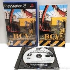 Videojuegos y Consolas: BCV: BATTLE CONSTRUCTION VEHICLES PLAYSTATION 2 PS2. Lote 156801858