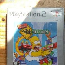 Videojuegos y Consolas: THE SIMPSON HIT RUN PLAYSTATION 2. Lote 156811273
