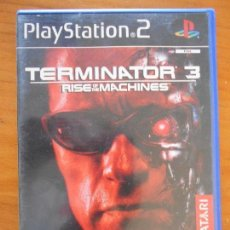Videojuegos y Consolas: PS2 - TERMINATOR 3 RISE OF THE MACHINES - PAL ESPAÑA - PLAYSTATION 2 (FQ). Lote 156969474