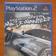Videojuegos y Consolas: PS2 - NEED FOR SPEED MOST WANTED - PAL ESPAÑA - PLAYSTATION 2 (FQ). Lote 156973050